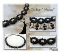 Pattern Puca Necklac Muse  uses Arcos Ios Foc with bead purchase